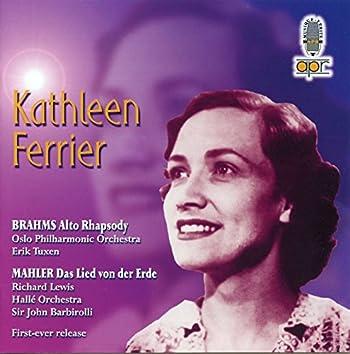 Brahms: Alto Rhapsody, Op. 53 - Mahler: Das Lied von der Erde