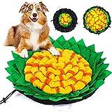 G.C Schnüffelteppich Hunde Intelligenzspielzeug, interaktives Hundespielzeug Intelligenz Riechen...