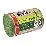 Domopak Spazzy - Bolsas de red para saco de color verde -...