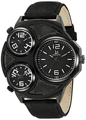 Joshua & Sons Reloj con Movimiento Cuarzo japonés Man 51 mm