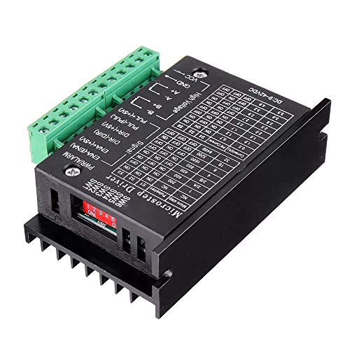 Printer Accessories Computer Accessories, Upgraded TB6600 Stepper Motor Driver Controller for 4A 9~40V TTL 32 Micro-Step 2 or 4 Phase of 42/57 Stepper Motor 3D Printer CNC Part
