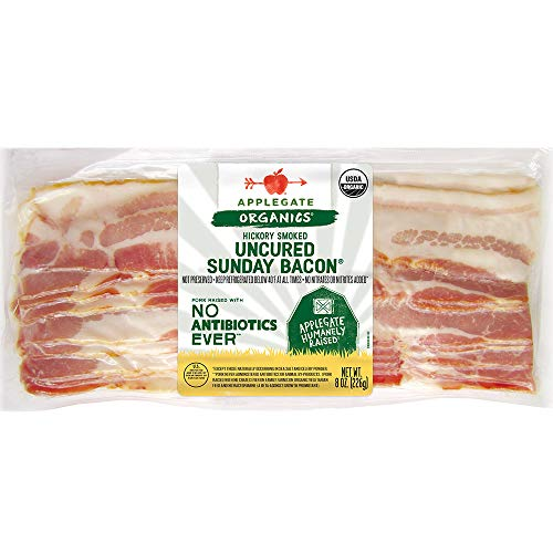 Applegate, Organic Uncured Sunday Bacon, 8oz