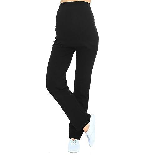 63a00b1c43bab Mija - Maternity casual comfortable yoga trousers over bump 3010