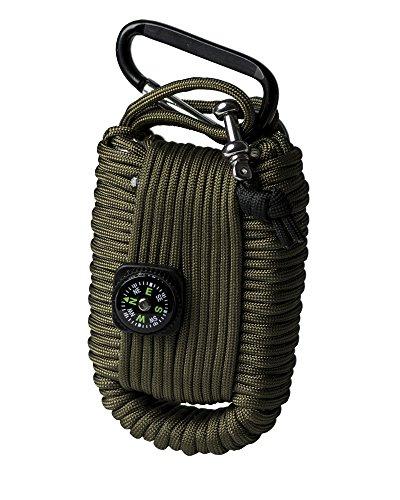 Mil-Tec Paracord Survival Kit Large Oliv