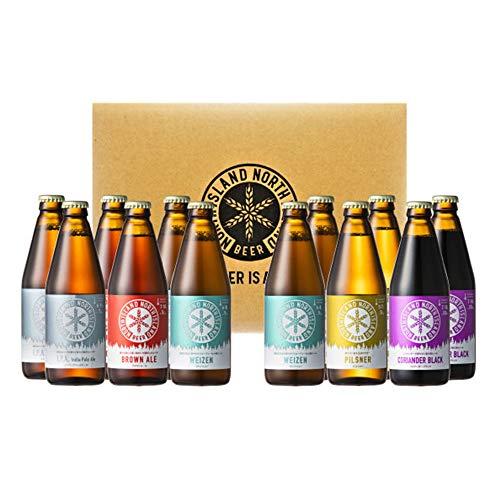 北海道 ノースアイランドビール 5種飲みくらべセット (12本入り)