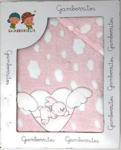 Sabanas invierno Coralina Cuna 60 x 120 cm (bajera+encimera+funda almohada) Oferta Envío Gratis Black Friday & Cyber Monday (Corazon rosa)