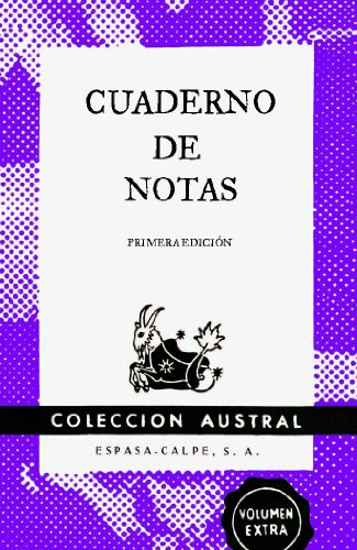 Cuaderno de notas violeta 11,2x17,4cm (AUSTRAL EDICIONES ESPECIALES)