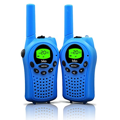 Walkie Talkies for Kids, 22 Channel Walkie Talkies 2 Way Radio 3 Miles (Up to 5Miles) FRS/GMRS...