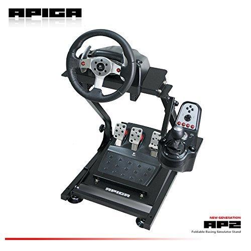 APIGA AP2 Foldable Racing Simulator with Gearshift Mount