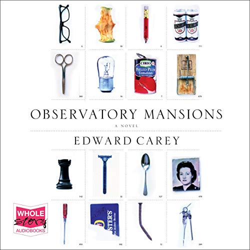 Observatory Mansions audiobook cover art