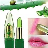 Lápiz labial que Cambia de Color Hidratante de Larga Duración Áloe Vera Pintalabios
