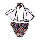Kitechildhssd Traje de baño para niñas con Encanto Traje de baño de Bikini de Mujer Sexy Traje de baño Monokini Femenino Multicolores