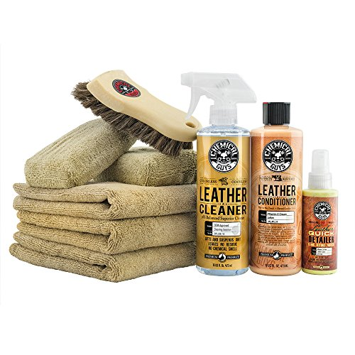 Chemical Guys HOL303 Leather Cleaner and Conditioner Care Kit
