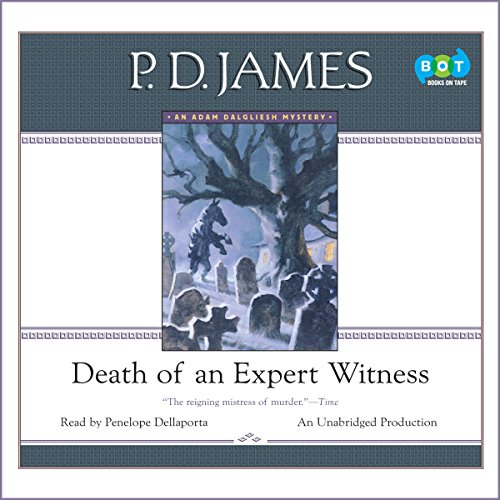 Death of an Expert Witness audiobook cover art