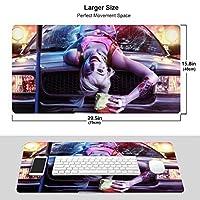 ハーレイ・クイン (4) おしゃれ 周辺機器 大型 3d柄プリント ゲーミング マウスパッド 人気 防水 滑り止め オフィス デスクマット キーボードパッド 水で洗える パソコン マウスパッド