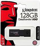 Kingston 128GB DataTraveler 100 G3 USB 3.1 130MB/s Read DT100G3/128GB (2 Pack)