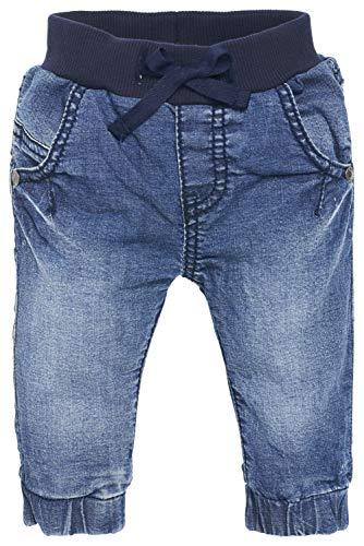 Noppies Unisex - Baby Jeans U Comfort, Einfarbig, Gr. 56, Blau (Stone Wash C295)