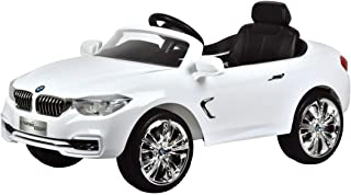 Car Bmw Ride on Electric for Kids with Remote Control, White , B-O, 29-669AR