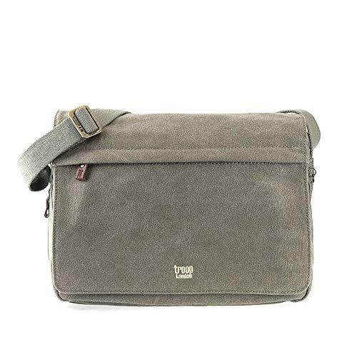 TRP0241 Troop London Classic Canvas Messenger Bag
