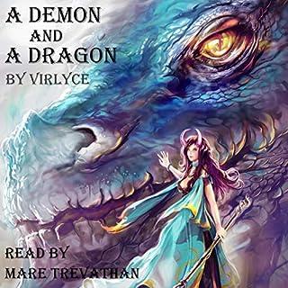 Page de couverture de A Demon and a Dragon