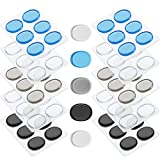 Drum Dampeners Gel Pads Silicone Drum Silencers Dampening Gel Pads Non-toxic Soft Drum Dampeners for Drums Tone Control (60 Pieces, Color Set 4)