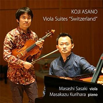 "Koji Asano: Viola Suites ""Switzerland"""