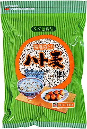 小谷穀粉 OSK OSK 生ハト麦 ハトムギ 500g