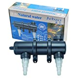 Jebao PU-13 Ultraviolet Clarifier Up to 2,000 gal, 13W UVC