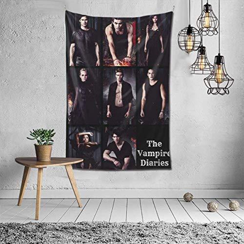 El tapiz de pared personalizado, manta de impresión 3D, arte de pared para sala de estar, dormitorio, decoración del hogar, 60 x 40 pulgadas, negro 60 x 50 pulgadas