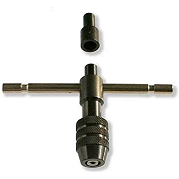 """Value Collection 1//4 to 1-1//8/"""" Tap Capacity Straight Handle Tap Wrench 19/"""" O..."""