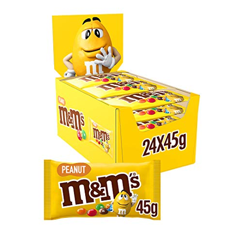 MM'S CARAMELOS DE CHOCOLATE CON CACAHUETE 45GR X 24PCS