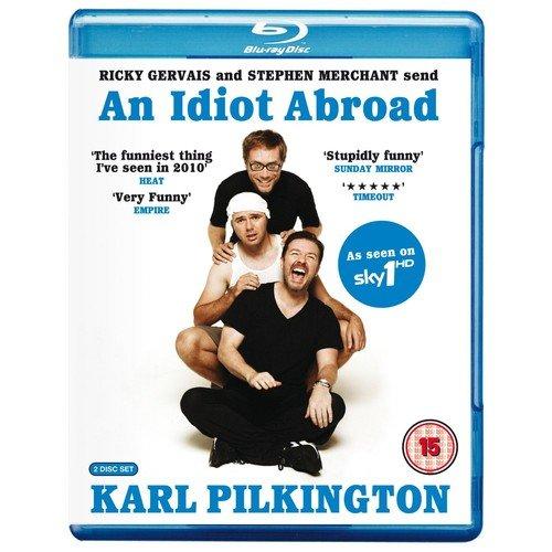 An Idiot Abroad Karl Pilkington [BLU-RAY]