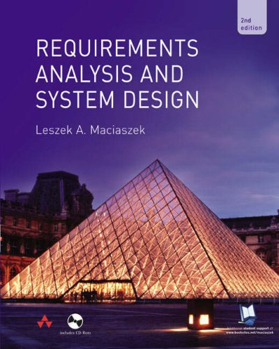 Download Requirements Analysis and System Design 0321204646