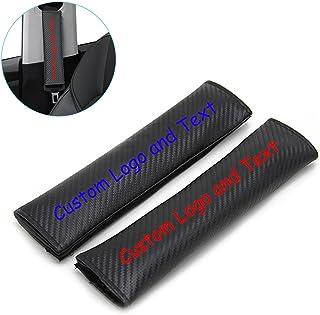 Pads Gift Audi S Line A1 A3 A4 A5 A6 A8 TT 2X Carbon effect Seat Belt covers