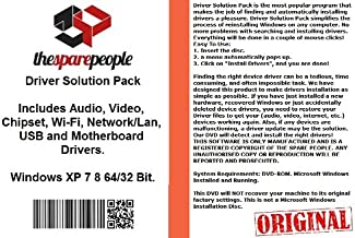 Driver Solution Pack For Dell Optiplex 745 Usff Installs Fix Audio Video Chipset Wi-Fi Network/Lan USB Motherboard Drivers- Windows XP Vista 7 8 32/64 Bit DVD Disk