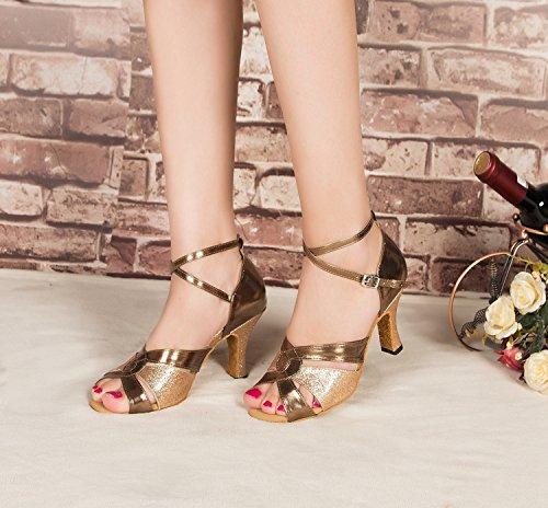 Minitoo , Damen Tanzschuhe , Gold – gold – Größe: 38 - 4