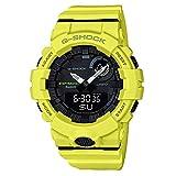 G-Shock By Casio Men's Analog-Digital GBA800-9A Bluetooth Watch Lime Green