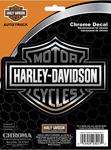 Chroma Graphics Harley Davidson Classic Emblemz Decal