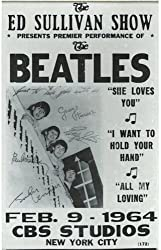Beatles collectible poster