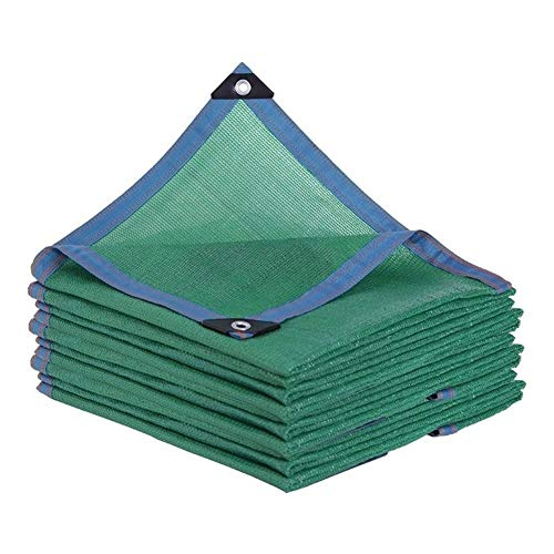 Paño de la Cortina Dosel 85% de Sombra de Tela con Ojales, Patio Net Shade for la Cubierta Vegetal, Greenhouse Barn o de la Perrera (Color : Green, Size : 2X6M/6X19FT)