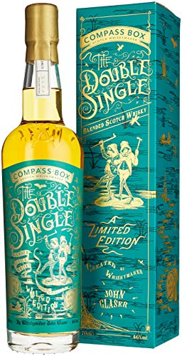 Compass Box The DOUBLE SINGLE Grain & Malt Blended Scotch Whisky Limited Edition (1 x 0.7 l)