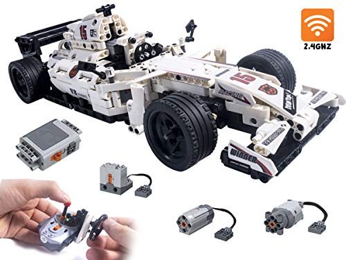 Celman RC Bausteine Technik Formel 1 Ferngesteuertes F1 Racing 729 Teile, Rennwagen Modell - 1:12 - 2.4 Ghz