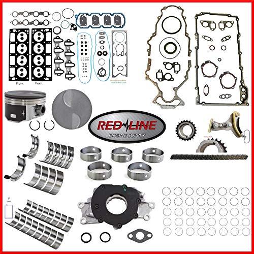 Engine Rebuild Overhaul Kit FITS: 2010-2014 GMC Chevrolet LMG Avalanche Silverado Sierra Suburban Tahoe Yukon 5.3L 325 OHV V8 16V VIN 0,3,7'