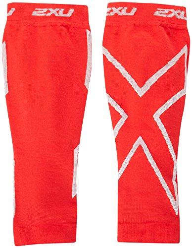 2XU Compression Calf Sleeves Chaussettes de Compression pour Femme M Rouge