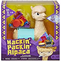 Hackin' Packin' Alpaca Kids Game with Spitting Alpaca for Ages