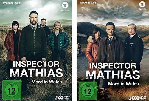 Inspector Mathias - Staffel 1+2 im Set - Deutsche Originalware [5 DVDs]