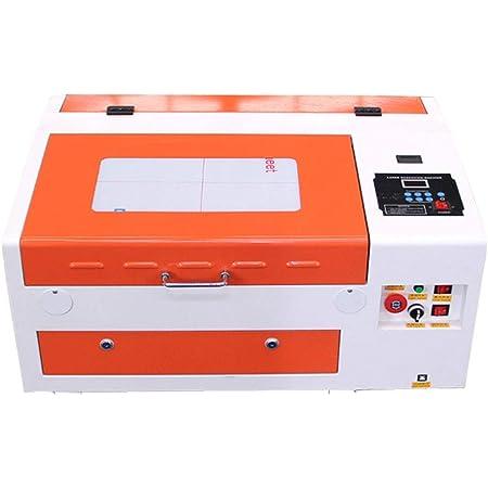 TEN-HIGH CO2レーザー彫刻機 DIY加工機 300mm*400mm 40W 110V 非金属対応 電動昇降 USBポート付き 必要な付属品一式フルセット