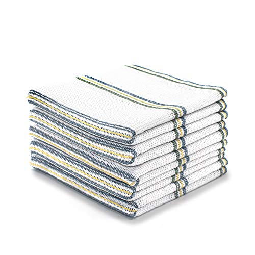 Bronwen Mathews Dish Cloths Cleaning Hygiene 100% Cotton Antibacterial Absorbent Lint Free Cloths Kitchen Towels Washing Up Dishcloths Tea Towels Set Pack of 10