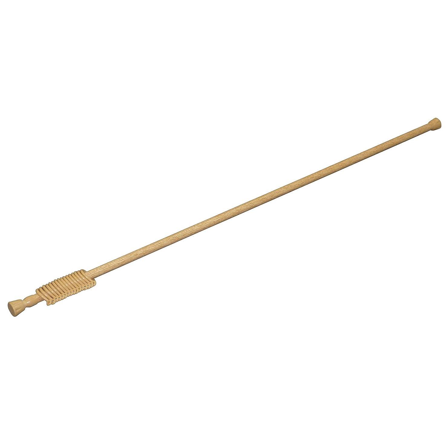レモンベックス空気平安伸銅工業 突っ張り棒 強力タイプ リング付 木目 耐荷重8~2kg 幅110~190cm パイプ直径1.6?1.3cm NSM-9