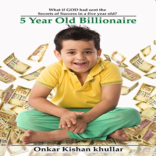 5 Year Old Billionaire audiobook cover art